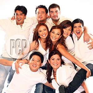 Bagets --- now (with the late Francis Magalona +)