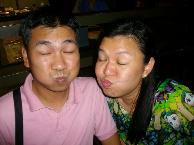 ...or affectionate. happy valentines, Q & L! yiheeeeeeee!!!