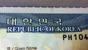Step by step visa application for South Korea (4/5)