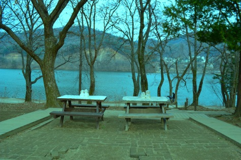 this is where the Winter Sonata first kiss happened