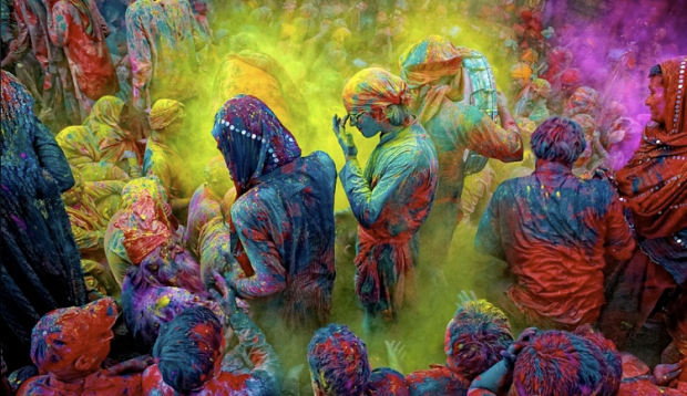 Holi Festival of Colors (India) - pic not mine
