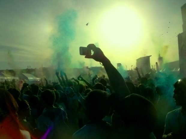 The Color Festival which served as the end of the event