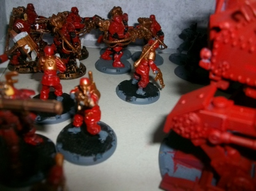 Painted Dust Tactic Miniatures