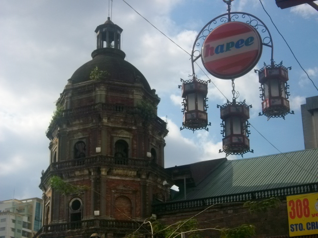 Binondo Church -- also known as The Cathedral of San Lorenzo Ruiz, the first Filipino-Chinese saint