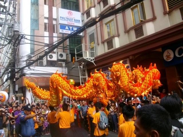 Dragon Dance in Manila, PH