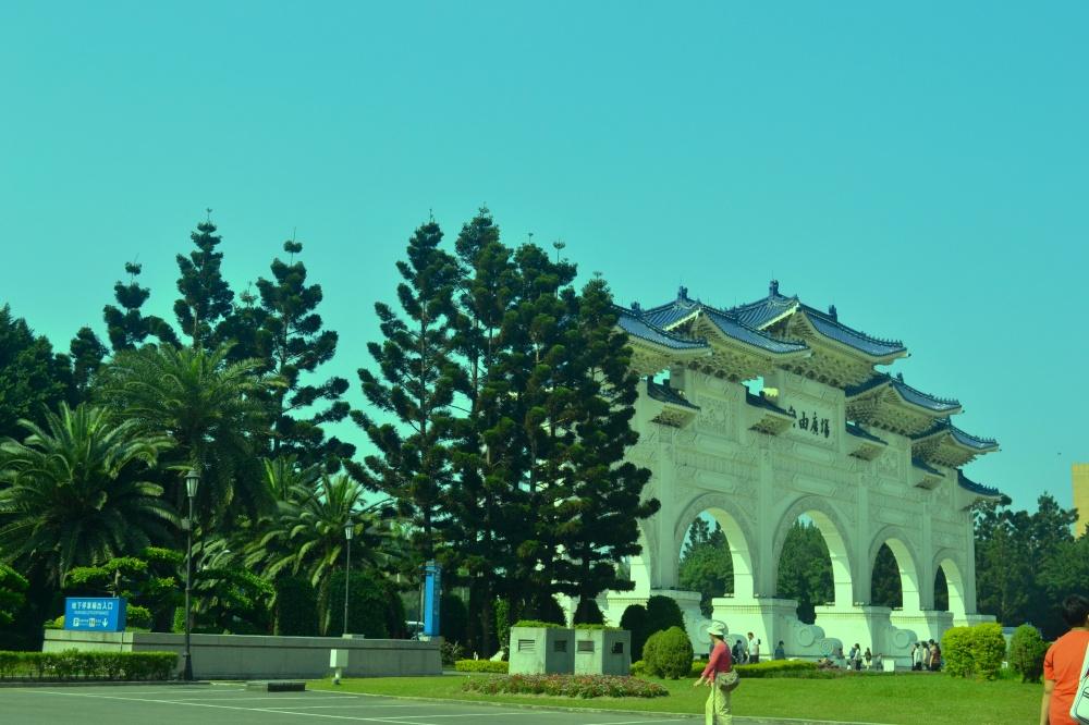 The Main Gates of the Chang Kai Shek Memorial Hall