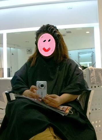 That's me during one of my pampering sessions