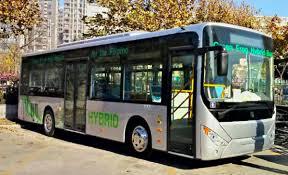 Hybrid Bus in Makati (photo not mine)