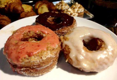 the croissant-doughnut from Wildflour Bakery