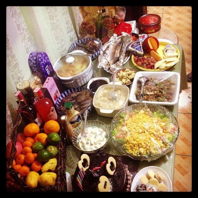NYEve feast