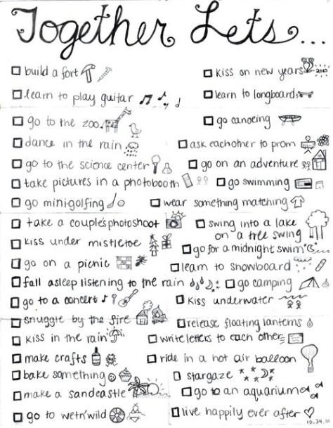 couple's list