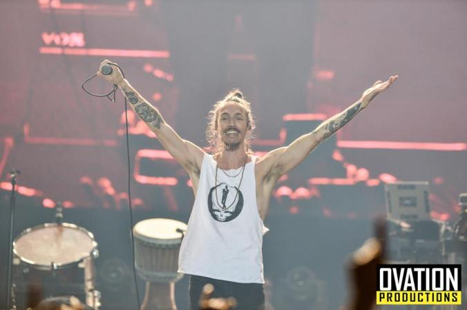 Brandon Boyd in Manila - picture property of Ovation Productions