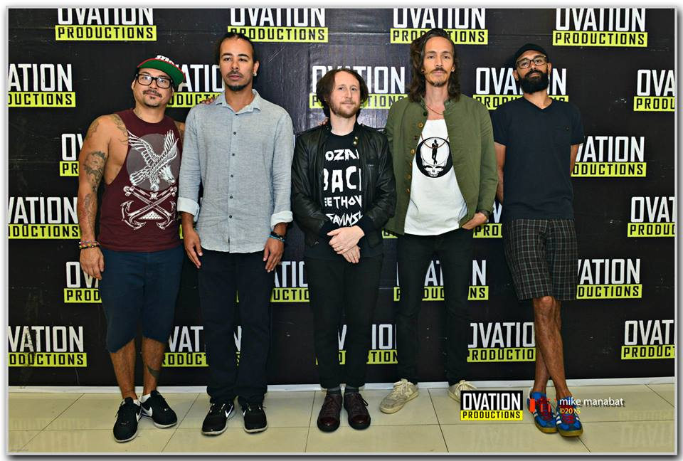 Incubus in Manila - picture property of Ovation Productions