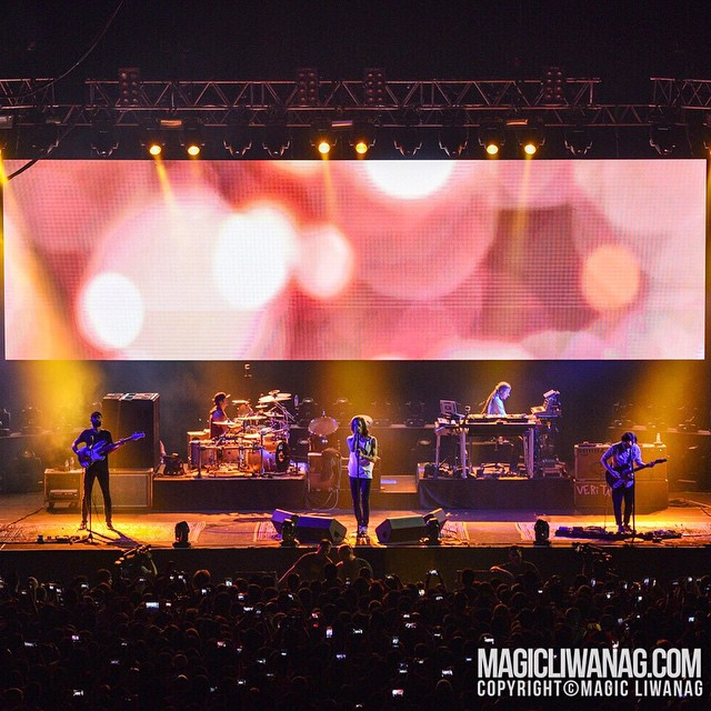 Incubus in Manila - photo property of Ovation Productions/Magic Liwanag Photography