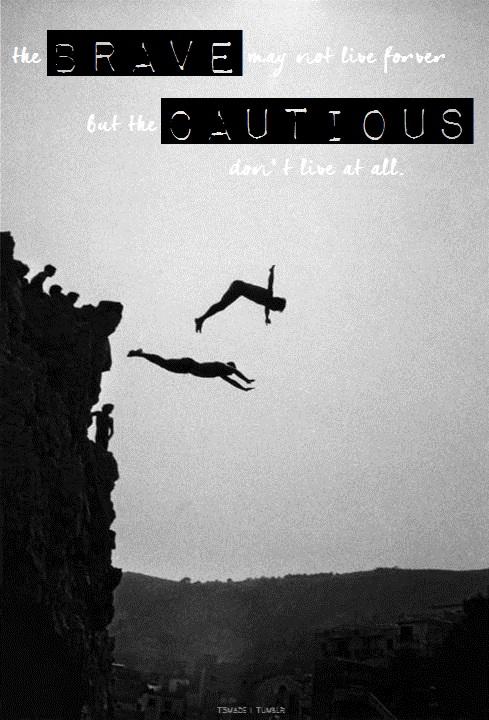 Jump for faith!