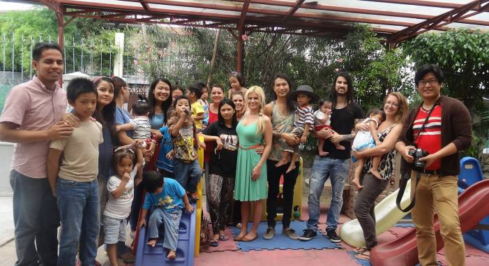 A day with the children of Virlanie