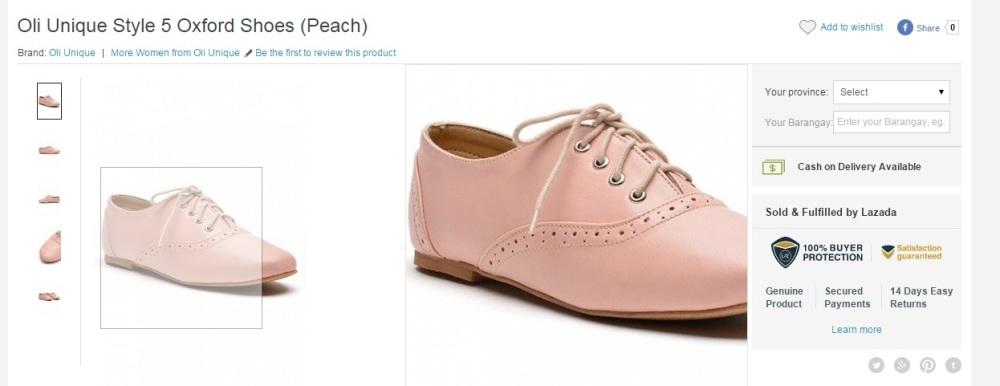 Oxford shoes. Again.