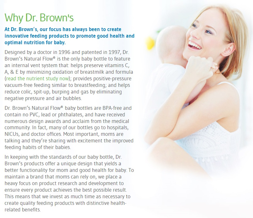 DB Why Dr. Brown's