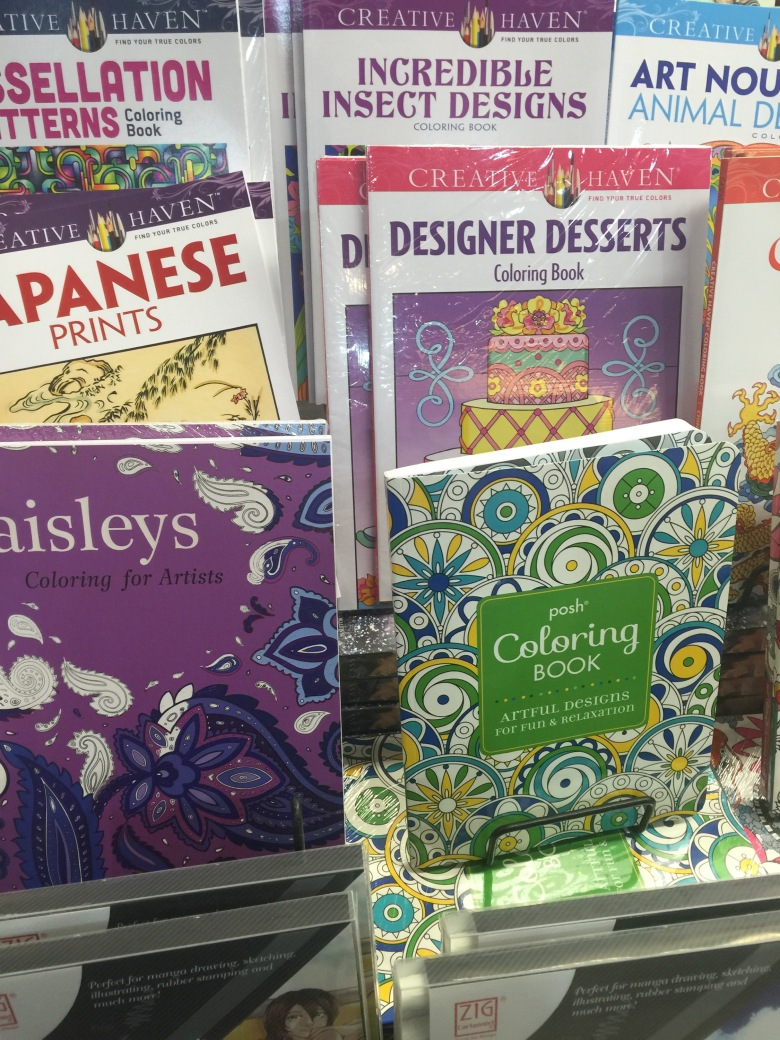adult coloring books: still no need to color within the lines