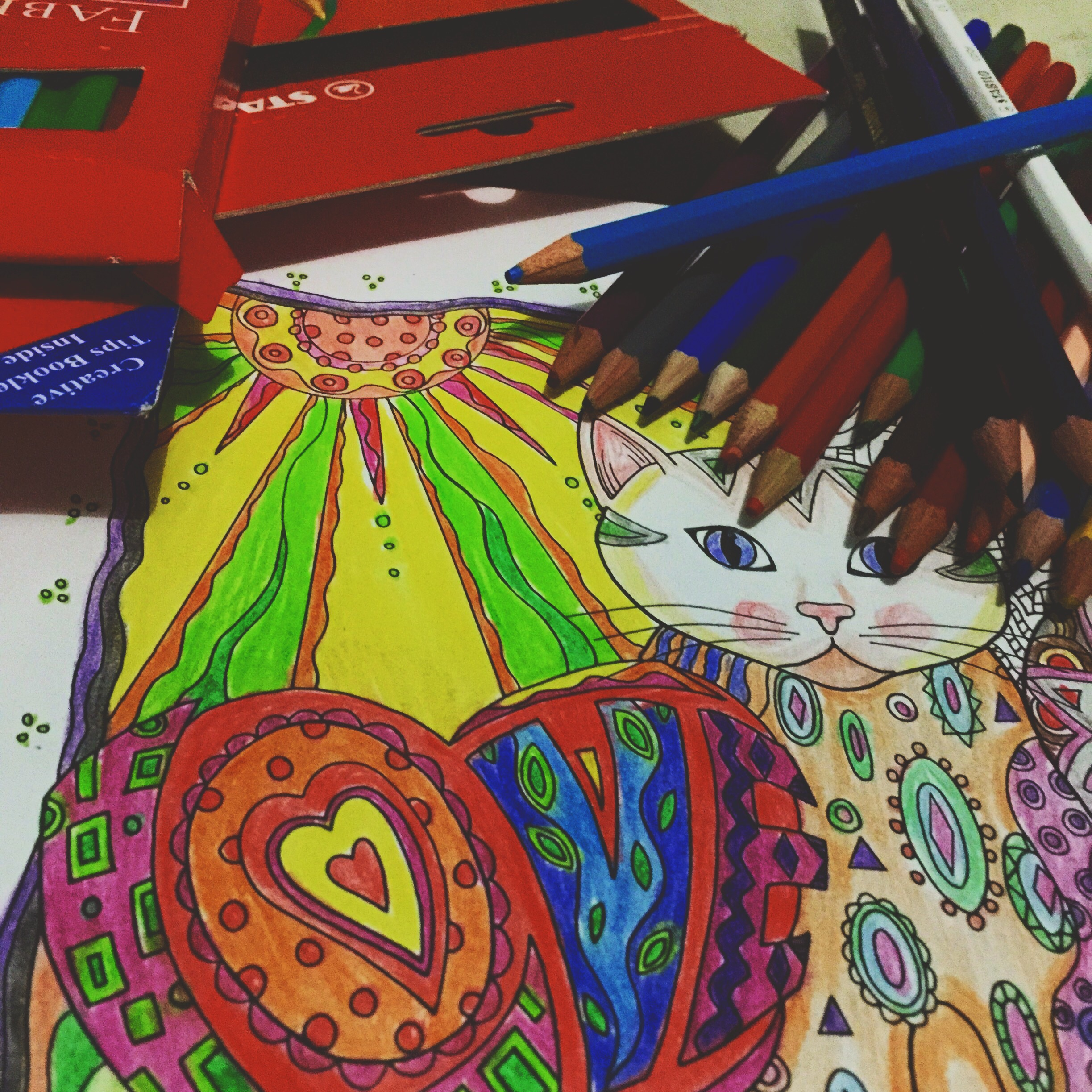 How to color grown up coloring books - Unlike Other Kids Who Probably Learned To Color Within The Lines And As Light As Possible I Tend To Grip The Color Pencil Furiously