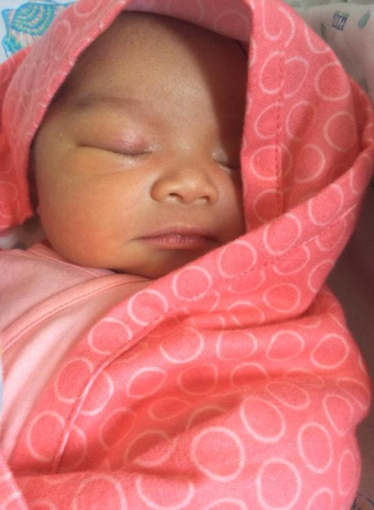 Newborn Penelope Hope (our little PennyLane)