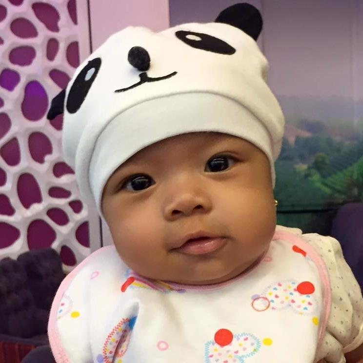Four months after - the little pea is now our ChunkyPanda :)