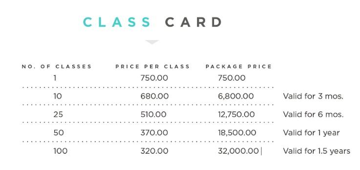 Class Card