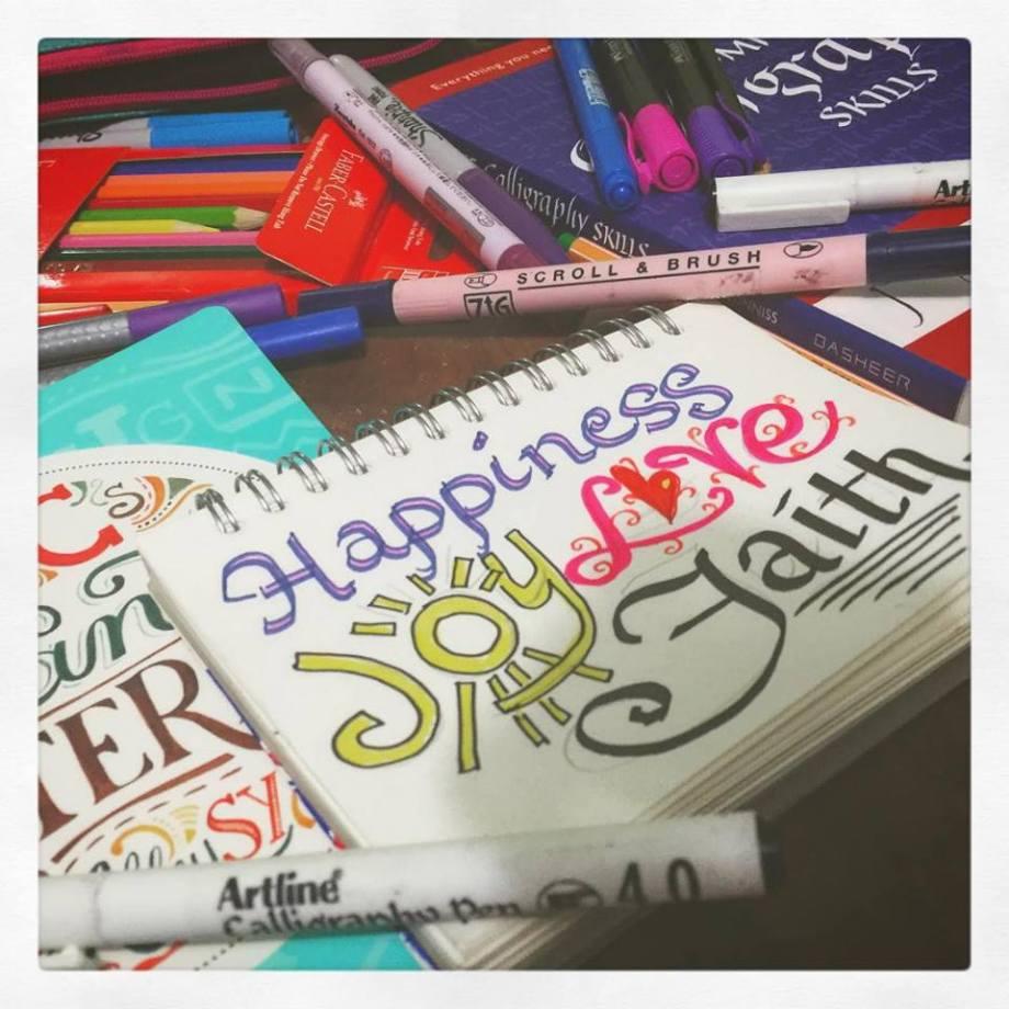 Happiness. Joy. Love. Faith.