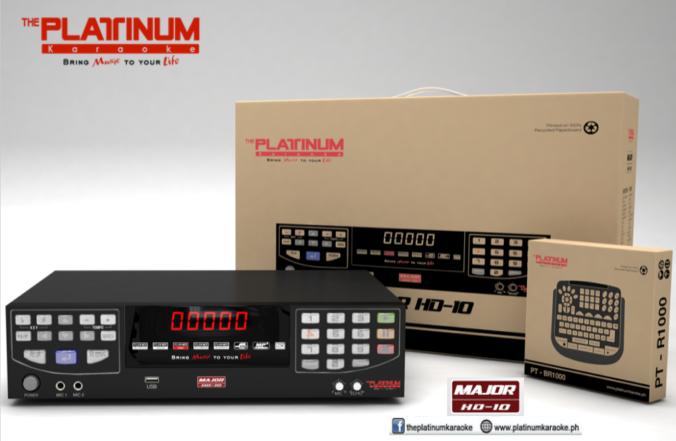 Pltinum Karaoke (MAJOR HD10)