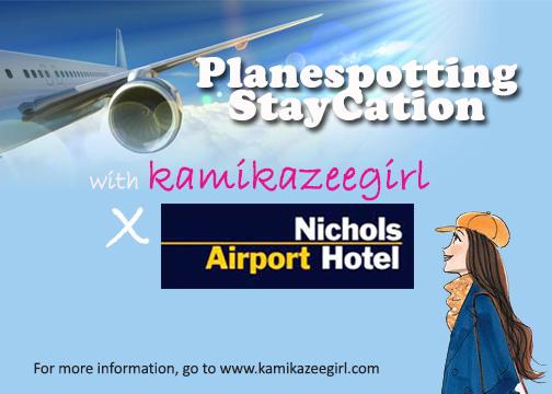 planespotting staycation