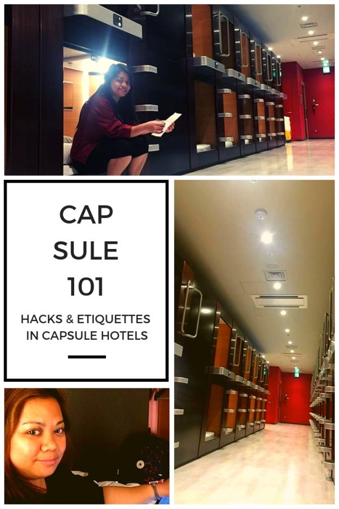 Capsule Hotel 101: Hacks & Etiquette
